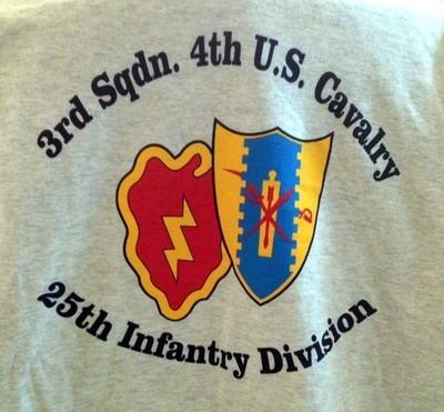 3/4 Cavalry T-Shirt (NEW)